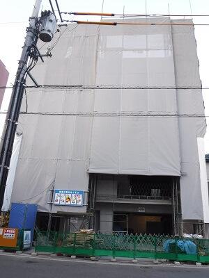 【段原賃貸マンション】5階の躯体工事を施工中です<
