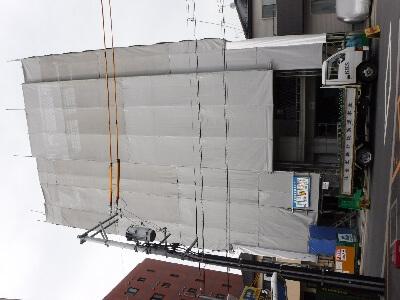 【段原賃貸マンション】7階の躯体工事を施工中です<