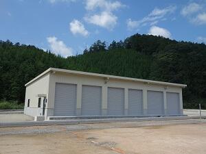 【北広島 大型車庫】内装工事が完了しました。<