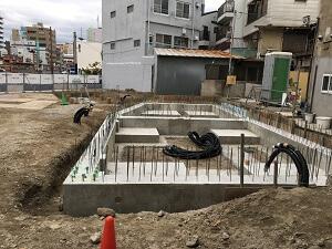 【広川エナス】 販売棟 鉄骨建方完了<