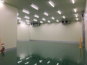 【おおたけ株式会社広島本社冷蔵倉庫新築工事】冷蔵庫工事が完了しました。<