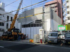 【(仮称)ライトヒルズビル新築工事】2階躯体工事施工中です<