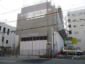 【(仮称)ライトヒルズビル新築工事】3階躯体工事施工中です<