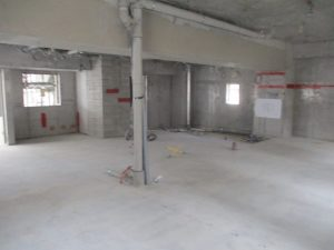 【(仮称)ライトヒルズビル新築工事】6階躯体工事施工中です<