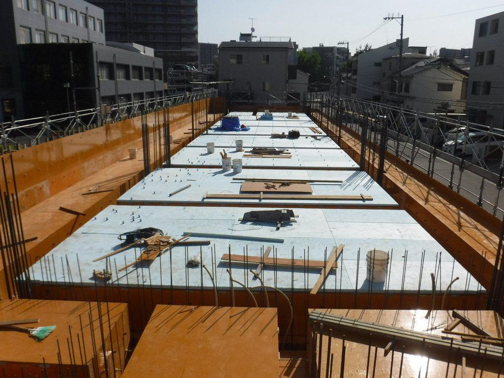 【S社新築工事】1階施工中です<