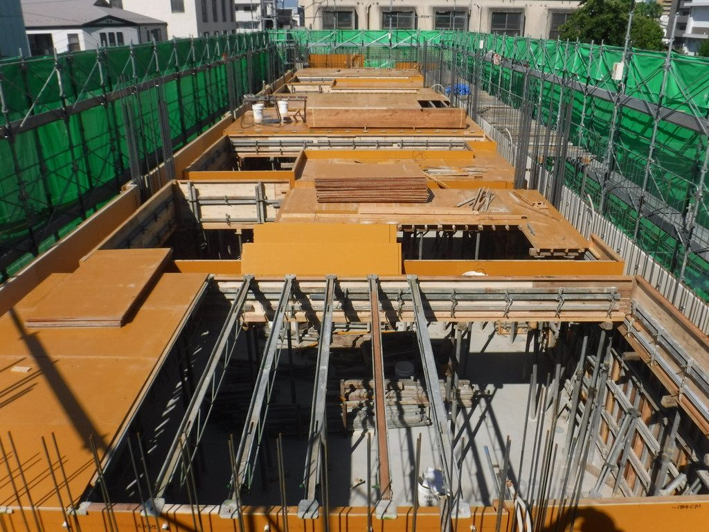 【S社新築工事】2階施工中です<