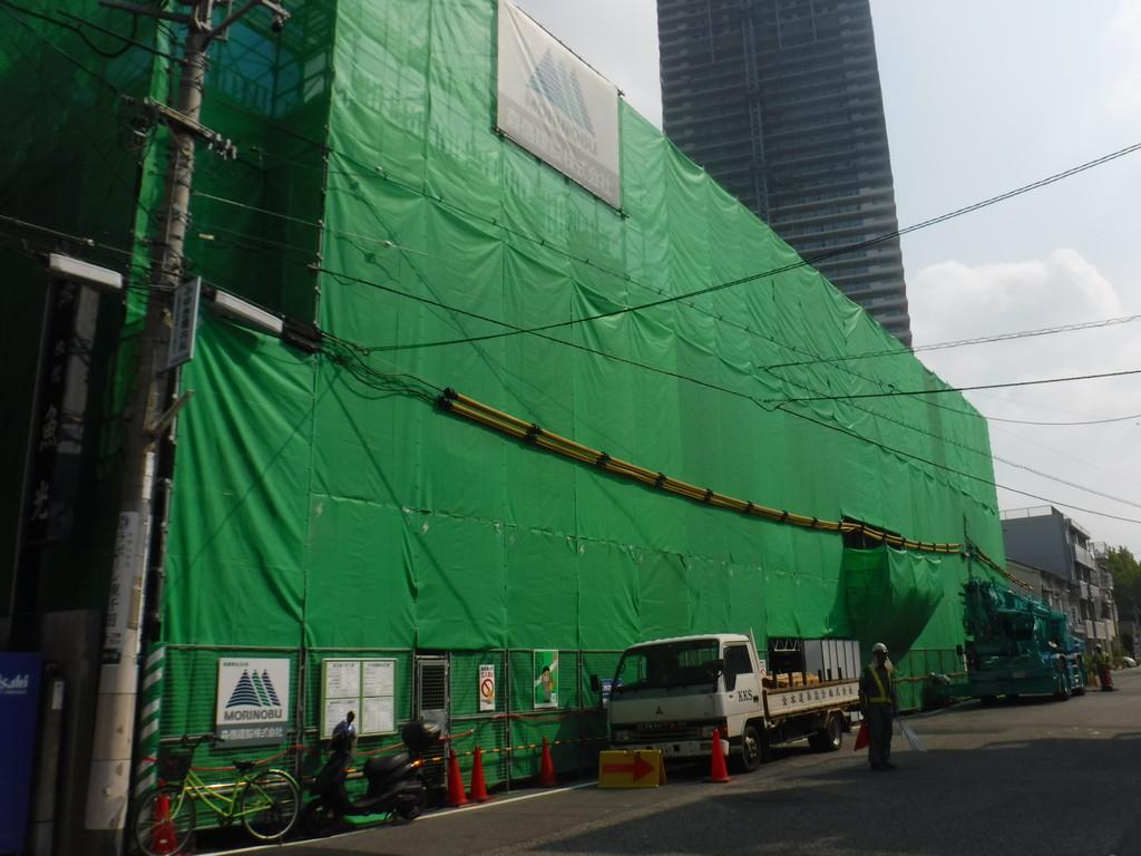 【S社新築工事】3階施工中です<