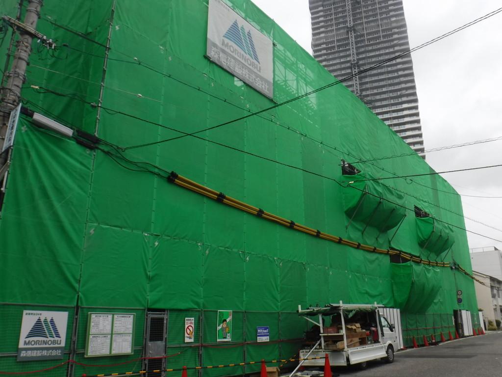 【S社新築工事】4階施工中です<