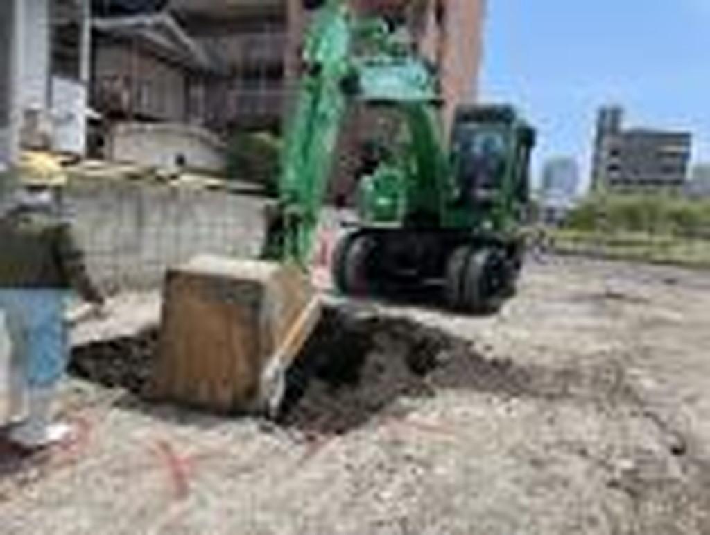 「株式会社京都嵯峨野様 広島ブライダル館」掘削工事が始まりました<