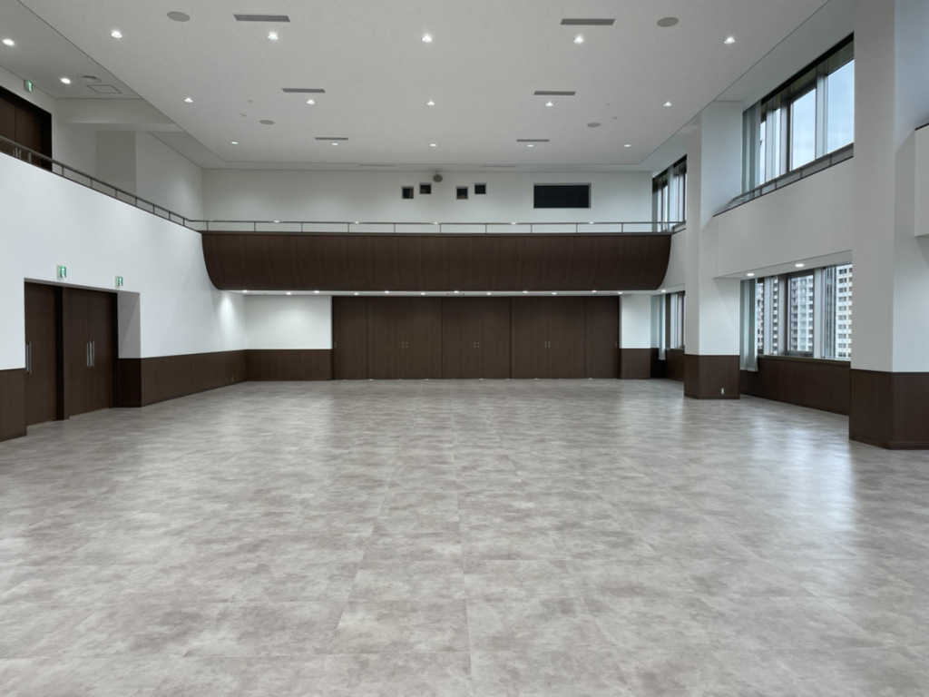 「広島信用金庫7階講堂他改修工事」完了しました<
